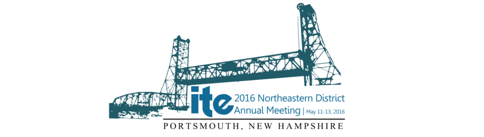 2016 ITE Northeastern District Annual Meeting